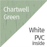 Chartwell Green & White PVC