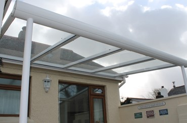 New Pergola - Illogan, Cornwall- Realistic Home Improvements