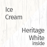 Ice Cream & Heritage White