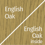 English Oak Outside & Inside