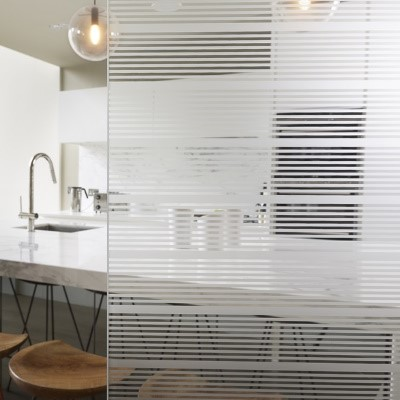 Etched Glass - Linear Privacy Level 2