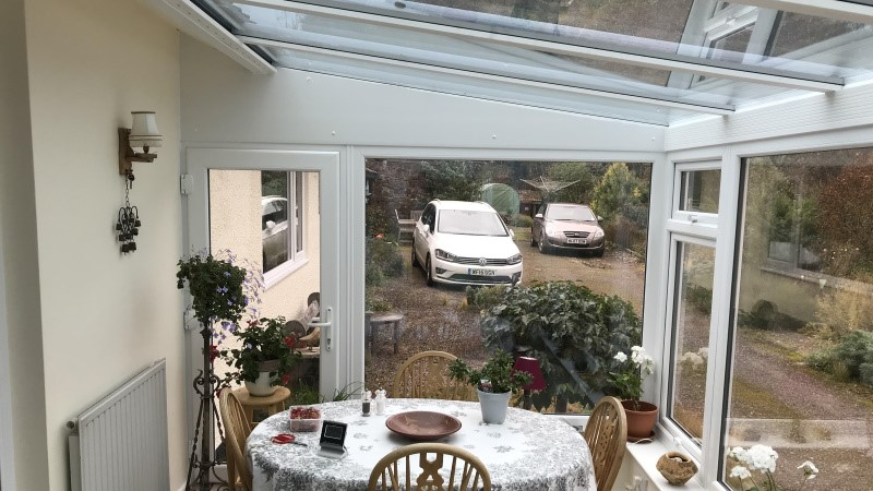 Conservatory replacement in Tiverton