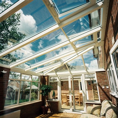 Lean-to conservatory from Realistic Home Improvements