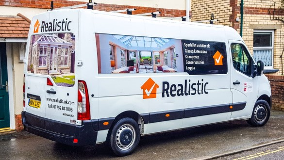 Smooth installation from Realistic Home Improvements