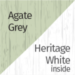 Agate Grey & Heritage White