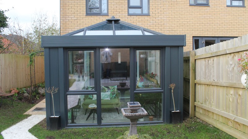 New conservatory build in Plymouth by Realistic
