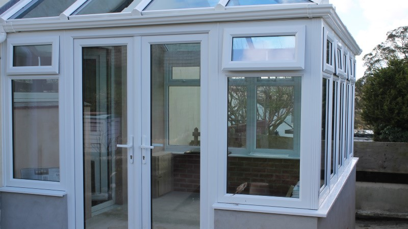 New conservatory - Looe, Cornwall - Realistic Home Improvements