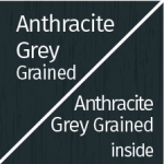 Anthracite Grey Grained Outside & Inside