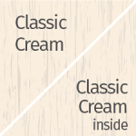 Classic Cream Outside & Inside