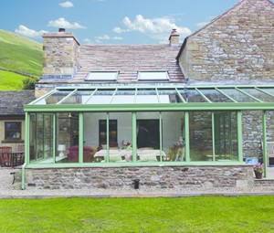 Lean to Conservatory from Realistic home Improvements