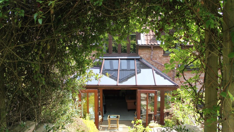 Lean to conservatory - Somerset - Realistic Home Improvements