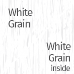 White Grain Outside & Inside