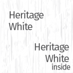 Heritage White Outside & Inside
