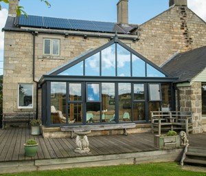 Gable End Conservatory from Realistic home Improvements