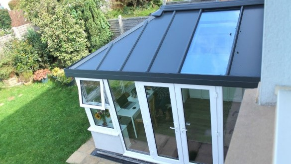 Completed conservatory from Realistic Home Improvements