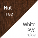 Nut Tree & White PVC
